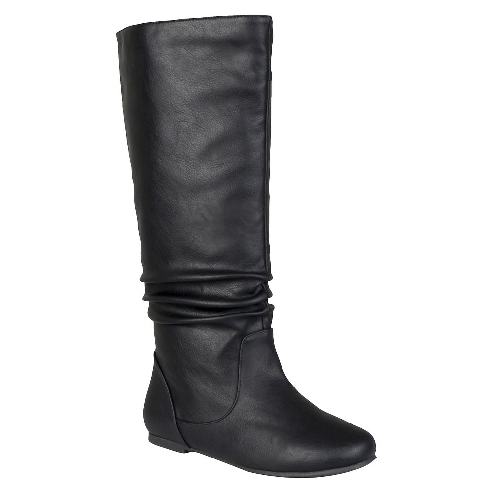Womens Journee Collection Slouch Boots - Black 7 Wide Calf
