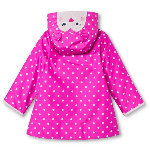Infant Toddler Girls' Polka Dot Raincoat - Just One You™ Made by ...