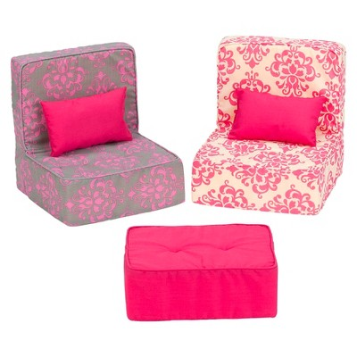 Dollhouse Furniture Living Room Set Our Generation Target