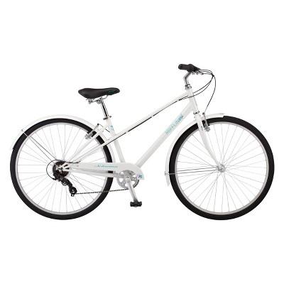 Schwinn Womens Mifflin 28 Hybrid Bike White