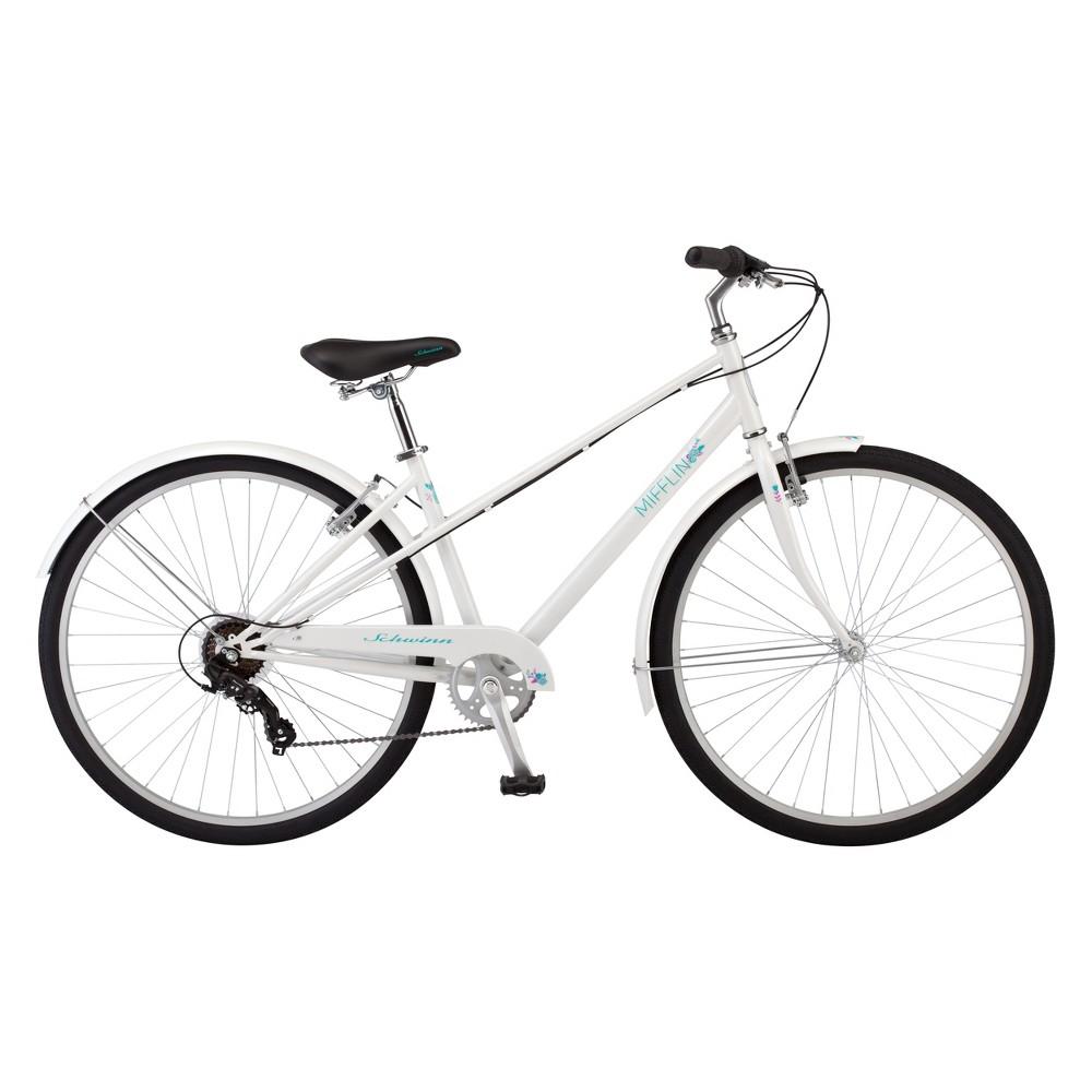 Schwinn Women's Mifflin 28 Hybrid Bike- White