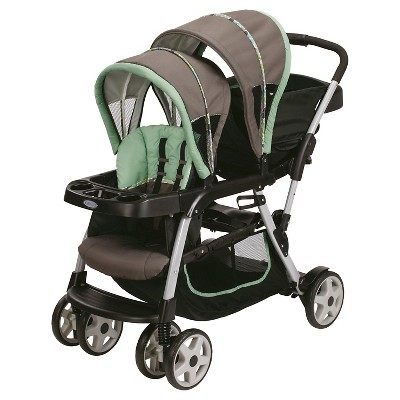 Graco Ready2Grow Click Connect Double Stroller - Ottawa