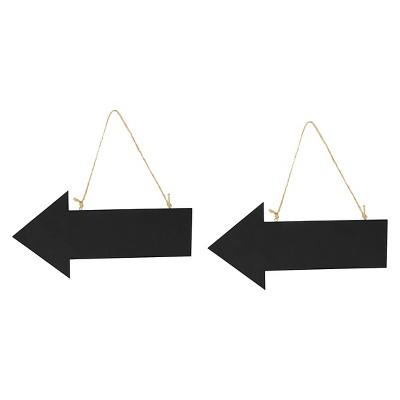 2ct Black Arrow Sign - Spritz™