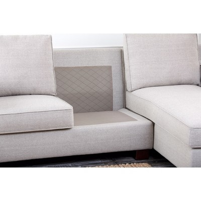Wilton Fabric Sectional Gray - Abbyson Living  sc 1 st  Target : abbyson living sectional - Sectionals, Sofas & Couches