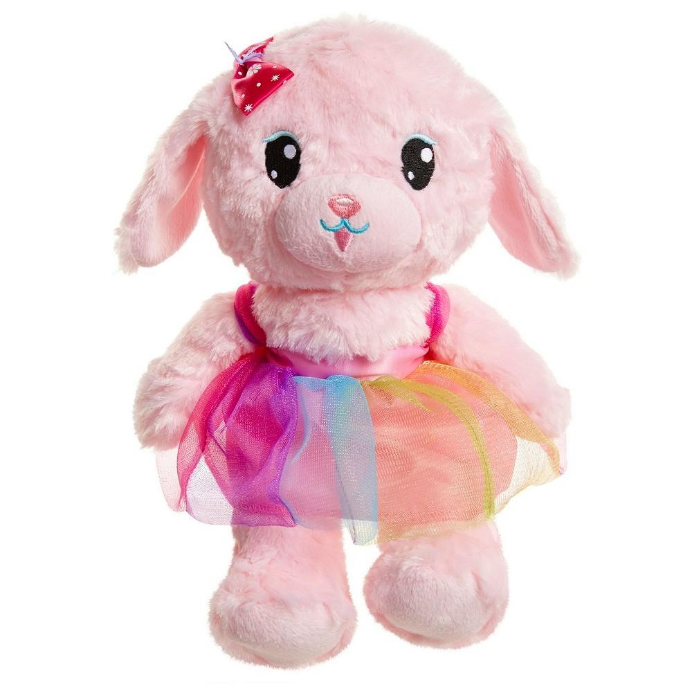Whimsy & Wonder Pink Plush Puppy