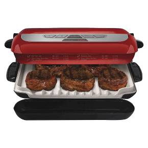 George Foreman Evolve Grill With Bake And Muffin Pan Target - Compact grill containers