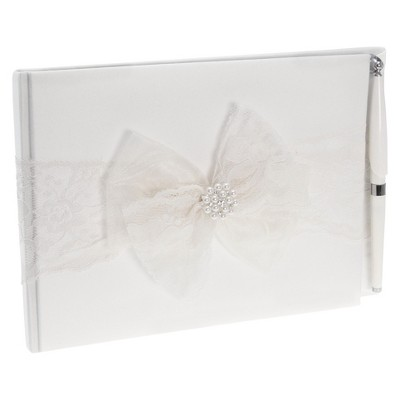 Delilah White Wedding Guest Book