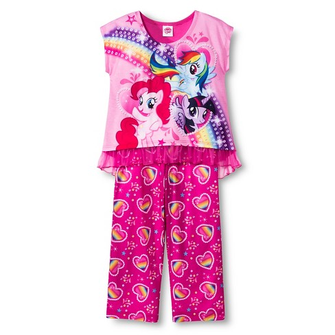 Girls' My Little Pony Pajamas - image 1 of 1