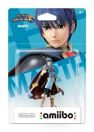 Marth Super Smash Bros Series Amiibo (Nintendo Wii U or 3DS)