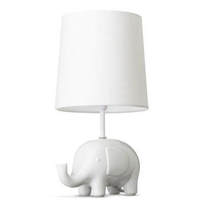 Circo™ Ceramic Table Lamp & Shade - Elephant (with bulb)