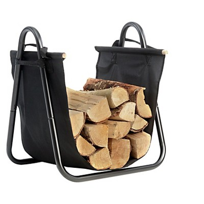 Shelter Logic Log Holder with Canvas Carrier