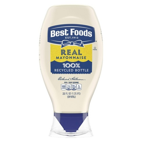 Best Foods Real Mayonnaise Squeeze - 20oz - image 1 of 5