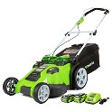 "GreenWorks G-Max 20"" Twin Force 40V Li-Ion Cordless Lawn Mower"