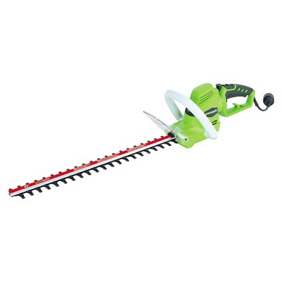 Greenworks Electric 4 Amp 22  Hedge Trimmer