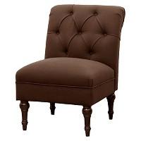 Threshold Tufted Rollback Slipper Chair