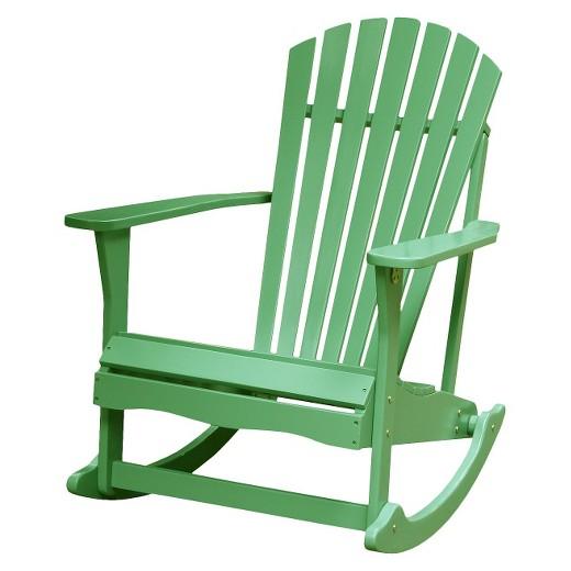 International Concepts Adirondack Patio Rocking Chair Target