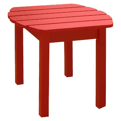 International Concept Accent Side Table - Red