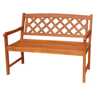 International Concepts Outdoor Latticework Bench