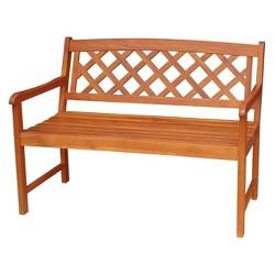 International Concepts Outdoor Latticework Bench