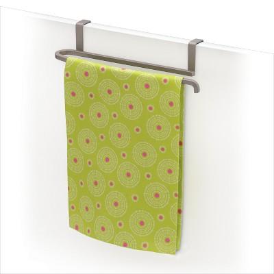 Lynk Over Cabinet Door Towel Bar - Satin Nickel