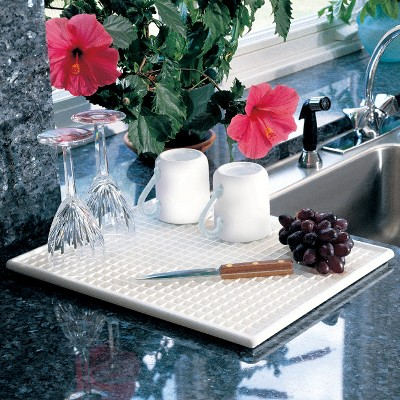 Lynk Dish Drying Tray - Dish Drainer Rack - White