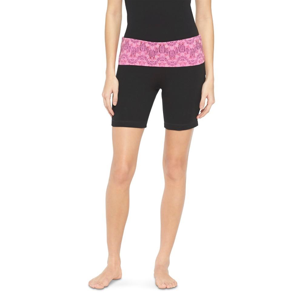 Women's Bermuda Yoga Shorts Pink M - Mossimo Supply Co. (Juniors')