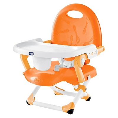 Chicco PocketSnack Chair Booster Seat - Orange