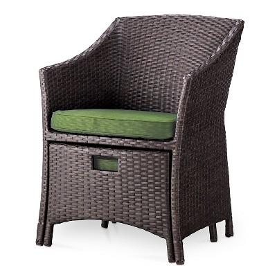 Loft 5 Piece Wicker Patio Conversation Furniture Set   Threshold™