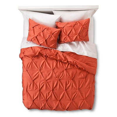 Coral Pinched Pleat Comforter Set (Full/Queen)3pc - Threshold™