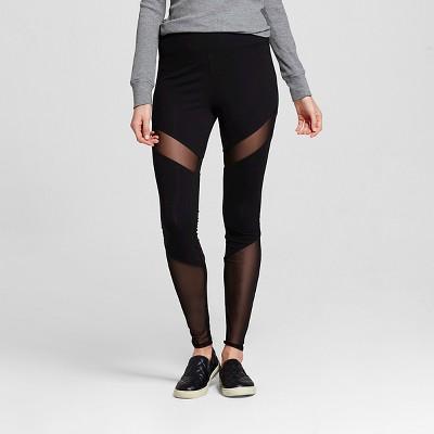 98a4e652df015 view Women's High-Waisted Leggings - Mossimo Supply Co. Black on target.com