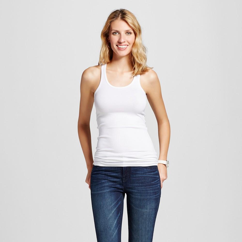 Womens Favorite Racerback Tank White Xxl - Merona