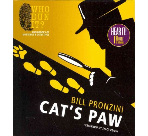 Cat's Paw (Unabridged) (CD/Spoken Word) (Bill Pronzini) - image 1 of 1