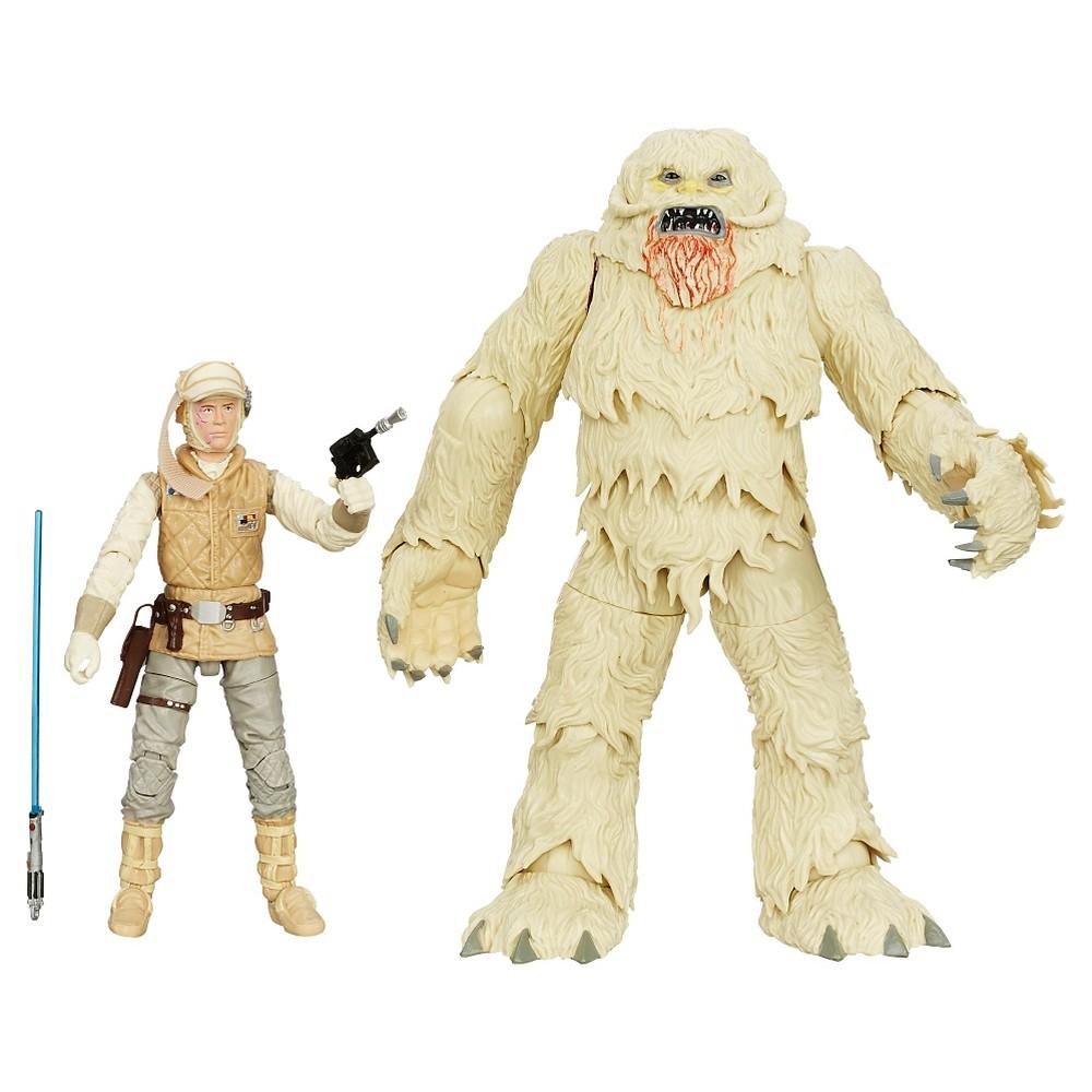 Star Wars The Black Series Luke Skywalker and Wampa Figures