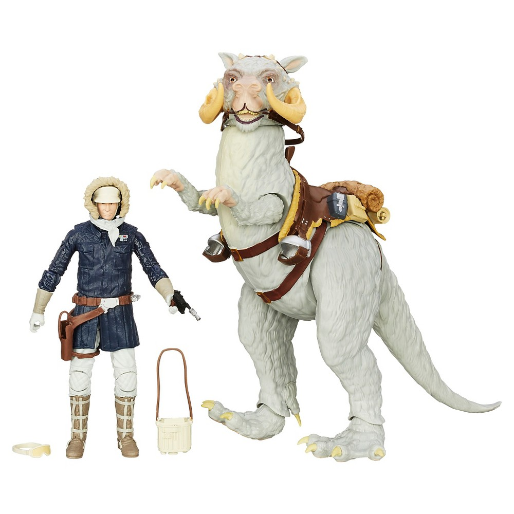Star Wars The Black Series Han Solo and Tauntaun Figures
