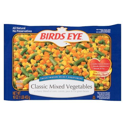 Birds Eye Clic Mixed Vegetables 16 Oz