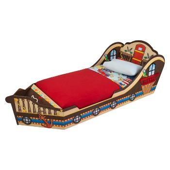 kidKraft Toddler Pirate Bed