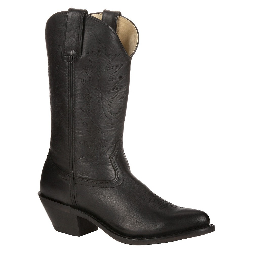 Womens Durango Wide Width Classic Western Boots - Black 9W, Size: 9 Wide