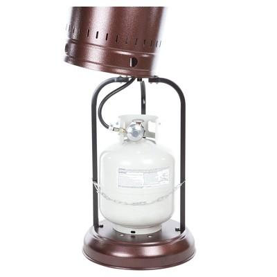 Good Fire Sense Hammer Tone Bronze Commercial Patio Heater