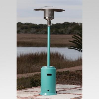 Fire Sense Aqua Blue Powder Coated Patio Heater Target