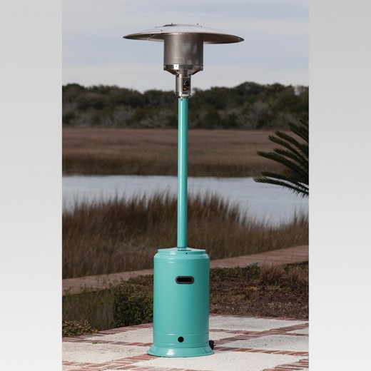 Fire Sense Aqua Blue Powder Coated Patio Heater Target – Fire Sense Patio Heater