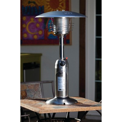 Exceptional Fire Sense Stainless Steel Table Top Patio Heater