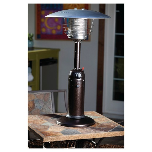 Fire Sense Hammer Tone Bronze Finish Table Top Patio Heater Target – Fire Sense Patio Heater