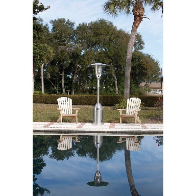 Fire Sense Stainless Steel Deluxe Patio Heater
