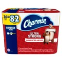 2-Pk. Charmin 36 Double Plus Rolls Bath Tissue + $10 GC