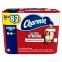 2-Pk. Charmin 36 Double Plus Rolls Bath Tissue + $10 GC
