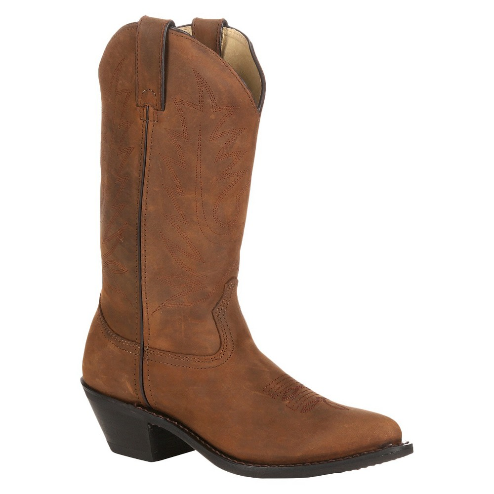 Womens Durango Wide Width Classic Western Boots - Brown 8W, Size: 8 Wide
