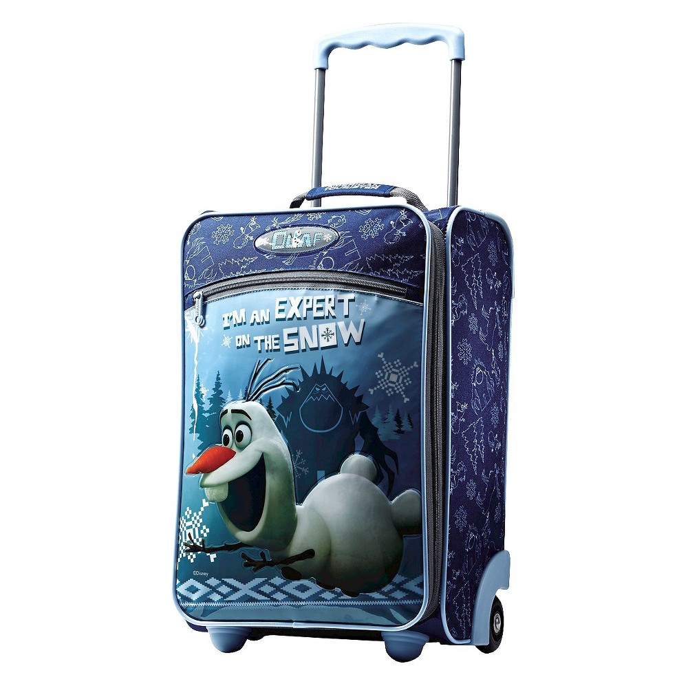 American Tourister Disney Frozen Olaf 18 Carry On Luggage,  Blue
