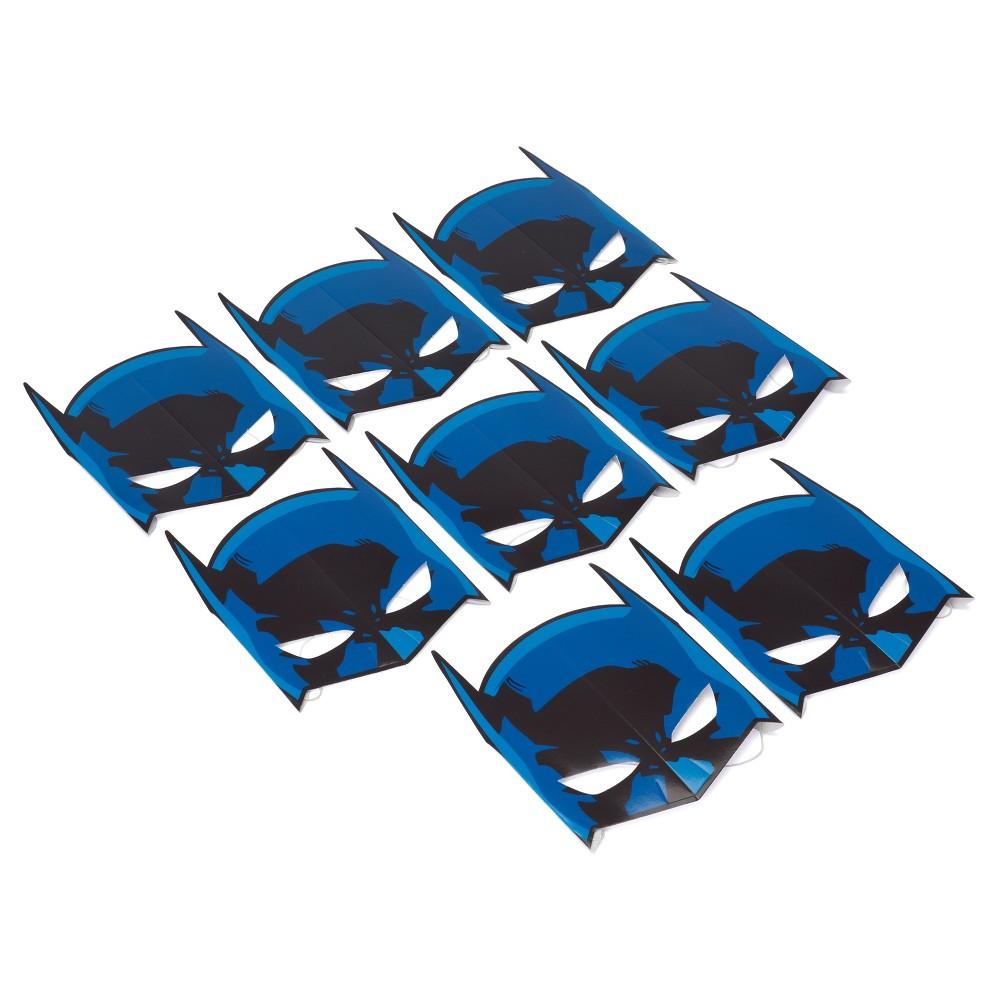 8 ct Batman Paper Mask, Boys