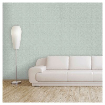 Devine Color Weave Peel & Stick Wallpaper - Horizon & Silver