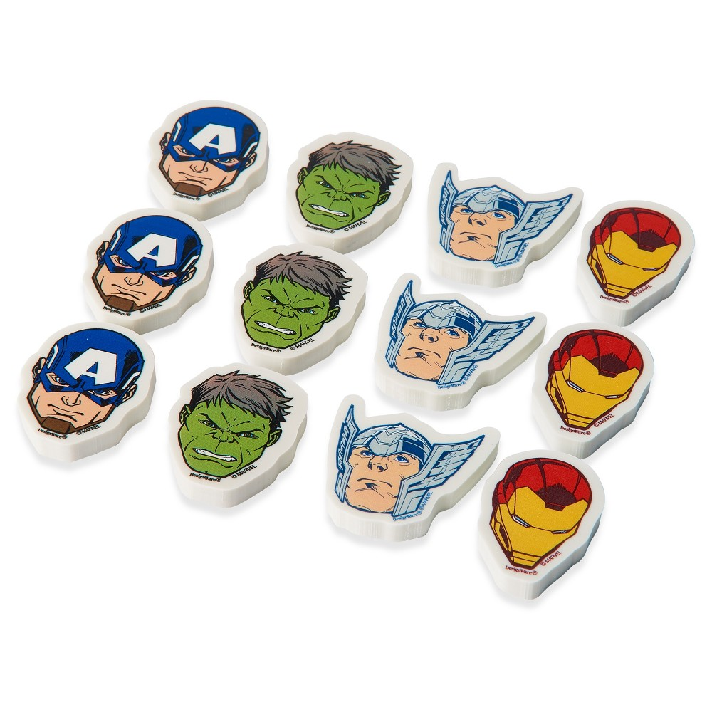 12 ct Avengers Party Favor Eraser